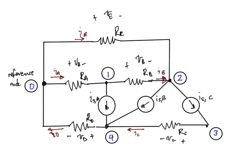fig. 1.  Sample resistive circuit